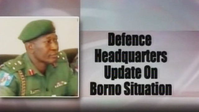 Update on Emergency in Borno