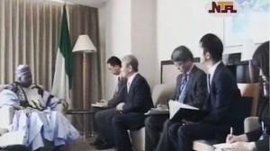 Japanese Prime Minister Hosts VP Sambo