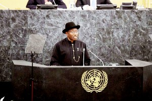 President Jonathan Addresses UN General Assembly