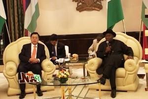 Jonathan Hosts China Party Chief