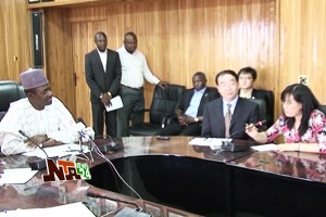 Maku Receives Chinese Delegation