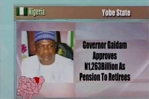 Payment of Pension to Retirees