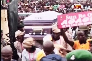 Late Dr. Agagu Buried
