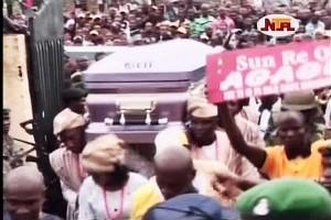 Late Dr. Agagu Buried