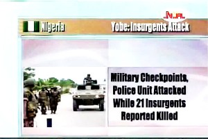 Insurgents Attacks Security  Forces in Yobe