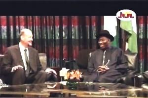 Jonathan Receives EU Envoy