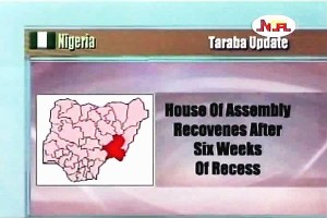 House of Assembly Reconvened