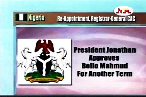 Mahmud Re-Appointed Registrar General