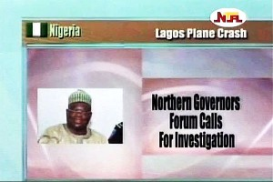 Northern Governors Forum on Air Crash