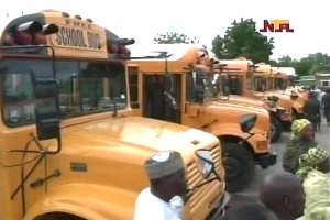 Yobe Governor Launches Free School Buses