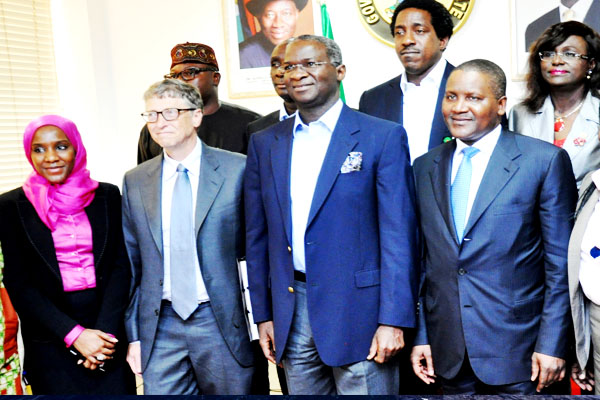 Bill,Dangote,Fashola