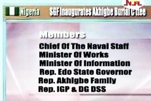 SGF to Inaugurate Akhigbe Burial Committee