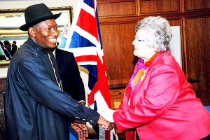 President Jonathan on Honorary International Investors Council