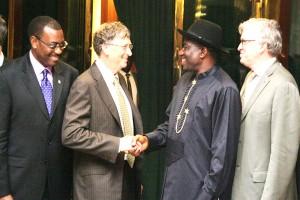 Jonathan Receives Bill Gates