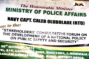 National Policy on Public Safety & Security