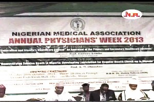 Health Minister Flags Off 2013 Physicians Week