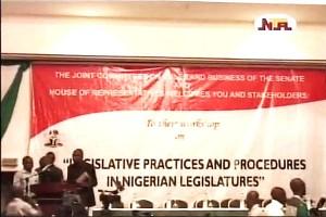 Senate President Opens Legislative Workshop