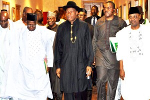 Jonathan Meets PDP Governors