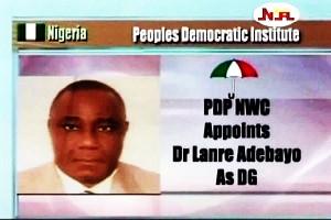 PDP Appoints DG PDI