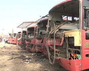 Explosion in Nyanya Bridge