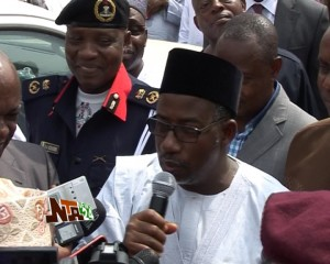 FCT Minister at AGIS Infrastructure Upgrade