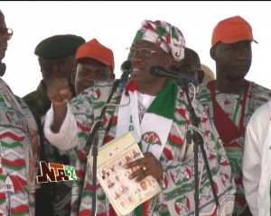 PDP holds Rally in Ilorin