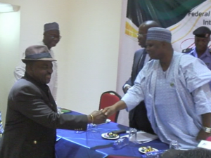 MINISTER INAUGURATES LG SCHEME OF SERVICE