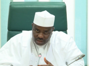 HOUSE SPEAKER STRESSES COOPERATION ON SECURITY