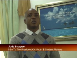 SSA to President on Youth Campaign for Peace