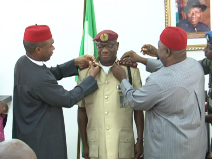 SGF Officially Decorate New Corps Marshal