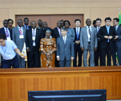 South Korea and Nigeria Experts 5th Joint Commission