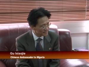 Treasurer-General of ANC and China Ambassador Visit PDP Secretariat