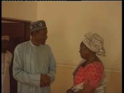 Representative of President Jonathan Visits Gen. Buhari