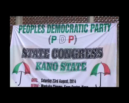 Kano PDP Congress Meeting