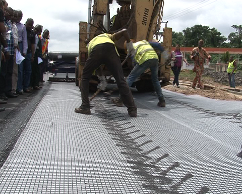 Works Minister In Akure Inspects Ilesha Road