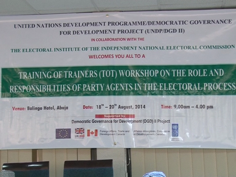 INEC Trains Political Party Agents