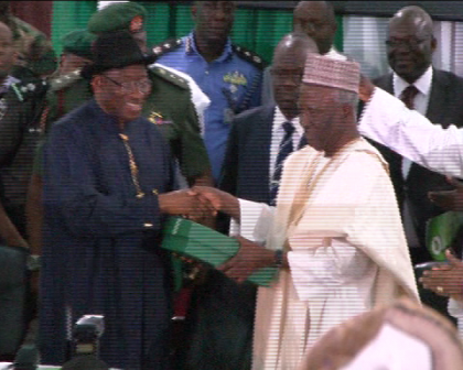 Pres. Jonathan Closes National Conference; Pledges to Implement Recommendations