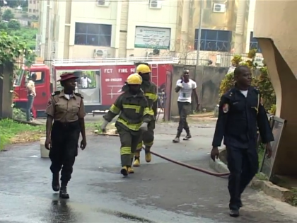 Nigeria Football Federation Secretariat Fire Outbreak
