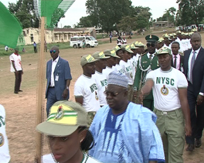 Governor Babangida Tasks NYSC Members On Ebola Virus