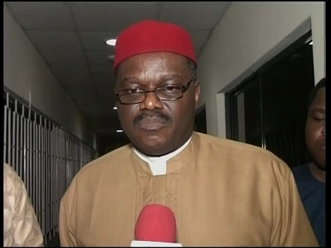 Minister of Health Briefs Press in Lagos on Ebola