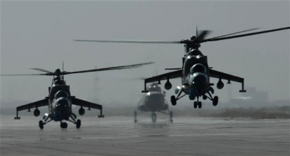 Nigeria and Russia have signed a contract for the supply of Mi-171Sh and Mi-35 helicopters.