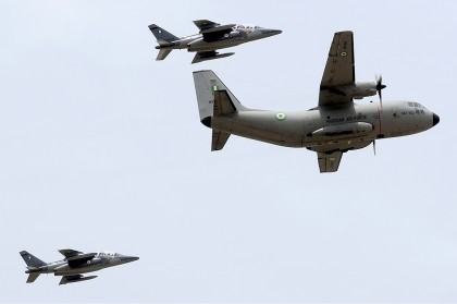 NAF Alpha Jets and Military Carrier Hercules