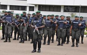 Nigerian police rapid response unit