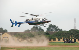Nigerian Police Helicopter