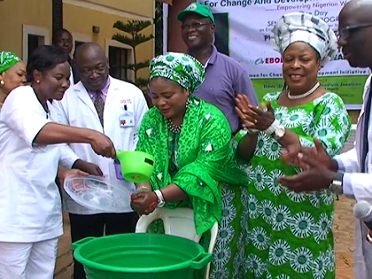 First Lady's NGO Organizes Enlightenment Programme To Sensitize Women On Ebola