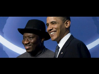 President Jonathan In New York