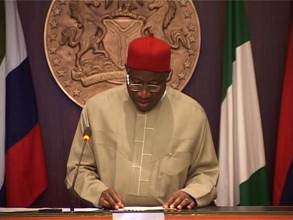 Jonathan Inaugurates Presidential Board On Job Creation