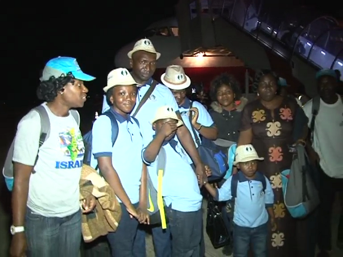 First Batch Of Christian Family Pilgrims Return Home