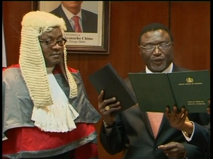New Enugu State Deputy Governor Has been Sworn Into Office