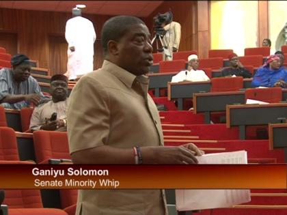 Senator Ganiyu Solomon